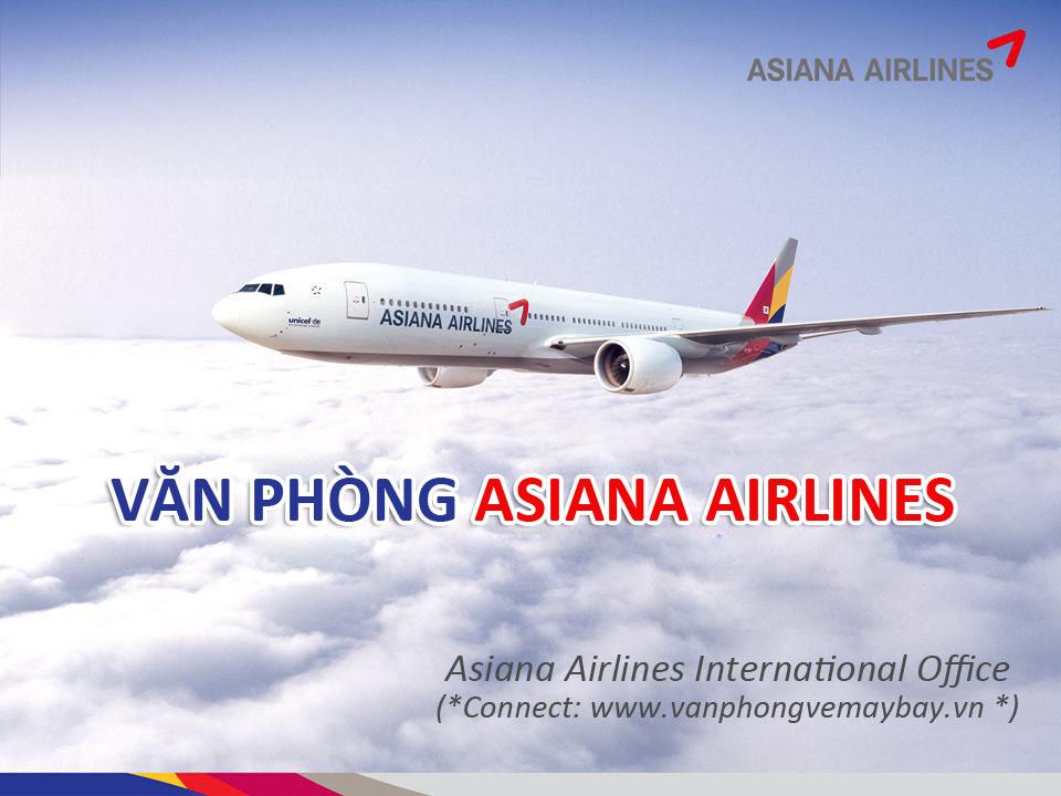 Văn phòng đại diện hãng Asiana Airlines
