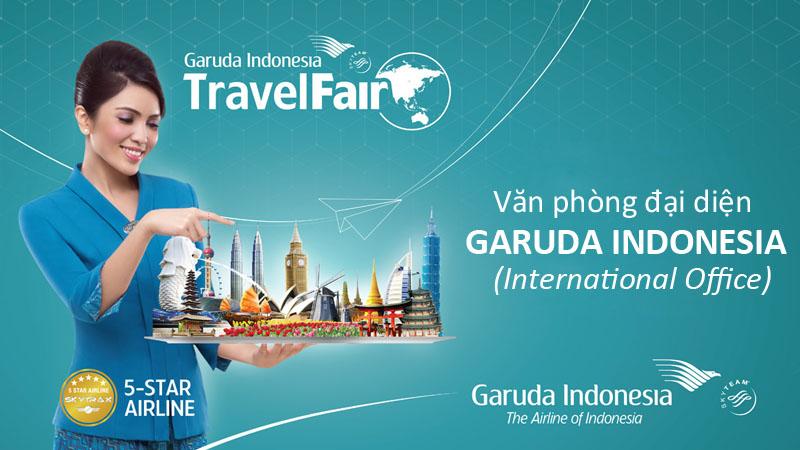 Văn phòng đại diện hãng Garuda Indonesia