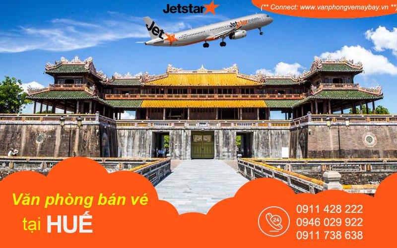 Văn phòng vé máy bay Jetstar Pacific tại Huế