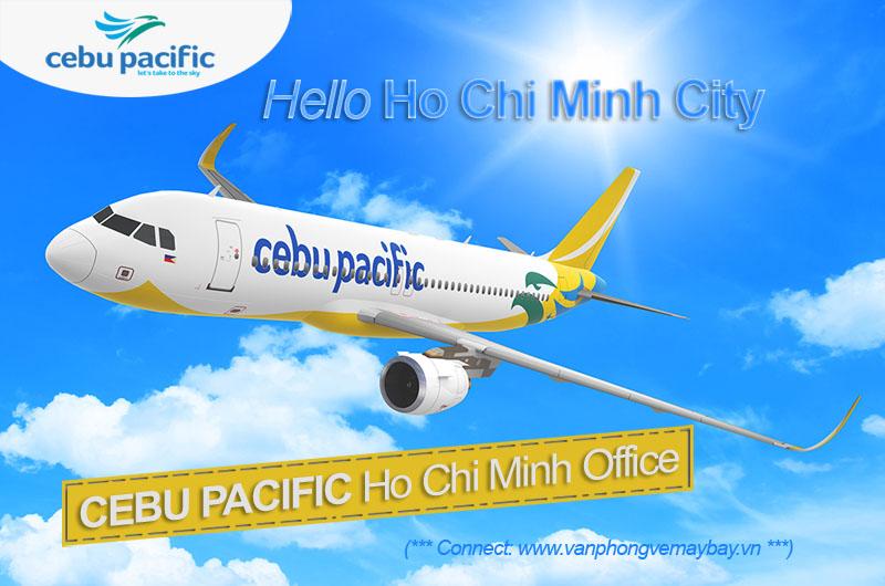 Văn phòng vé Cebu Pacific tại Hồ Chí Minh