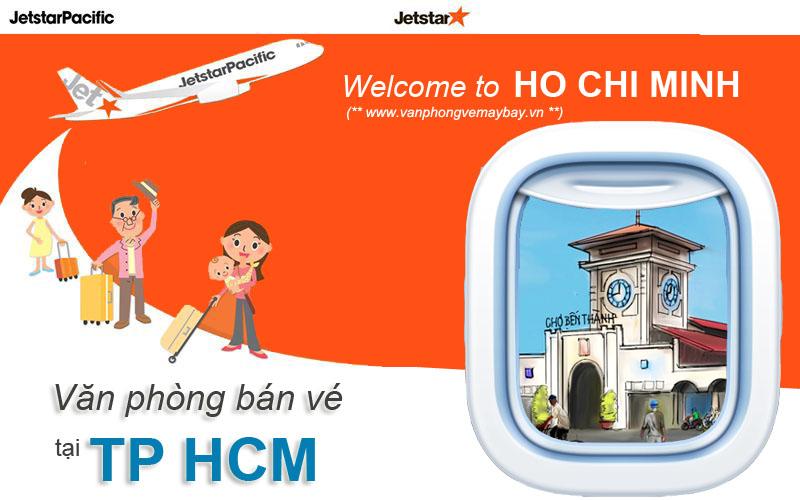 Văn phòng vé máy bay Jetstar Pacific tại TP Hồ Chí Minh