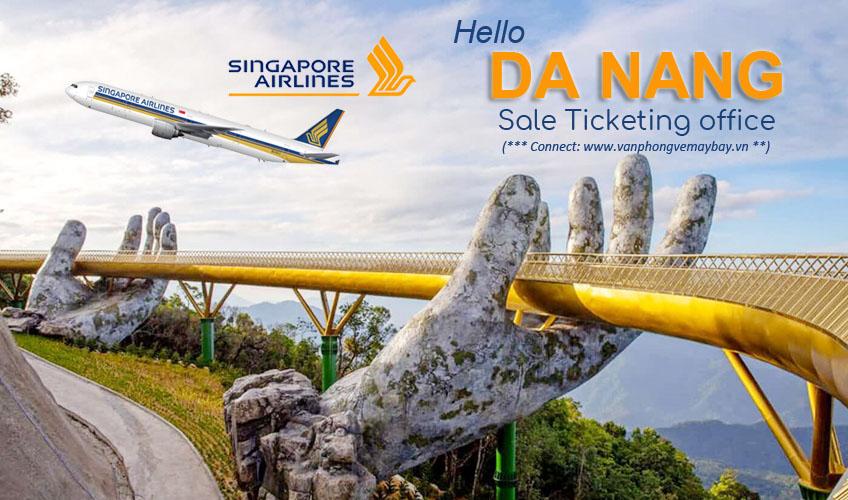 Van phong ban ve Singapore Airlines o tai Da Nang