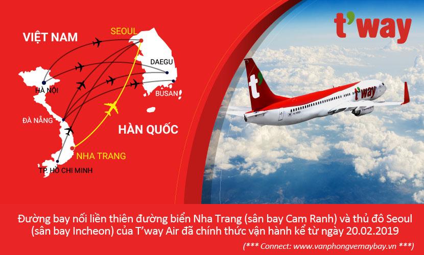 T'way Air tại Nha Trang