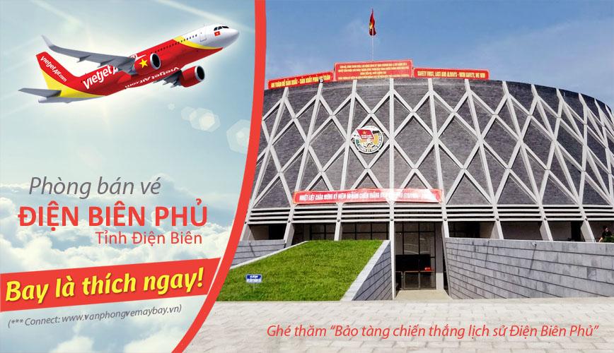 Phòng bán vé Vietjet Air tại Điện Biên Phủ