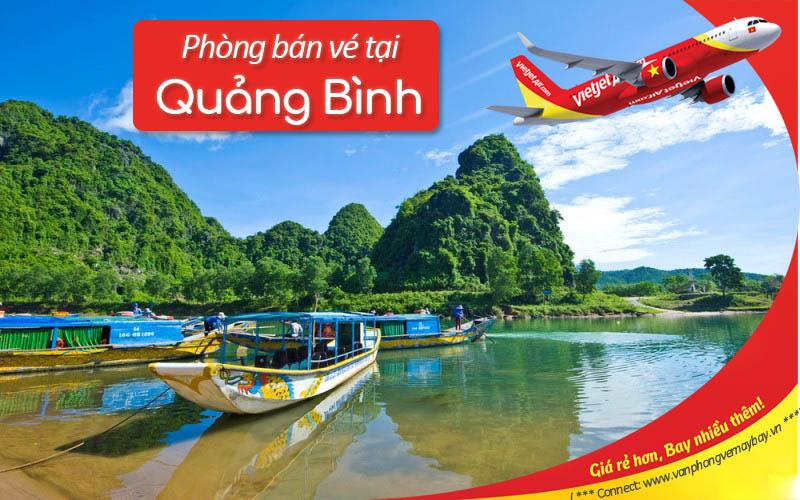 Van phong ve may bay Vietjet Air tai Quang Binh