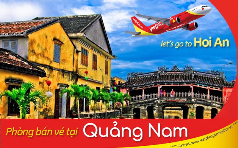 Van phong ve may bay Vietjet Air tai Quang Nam