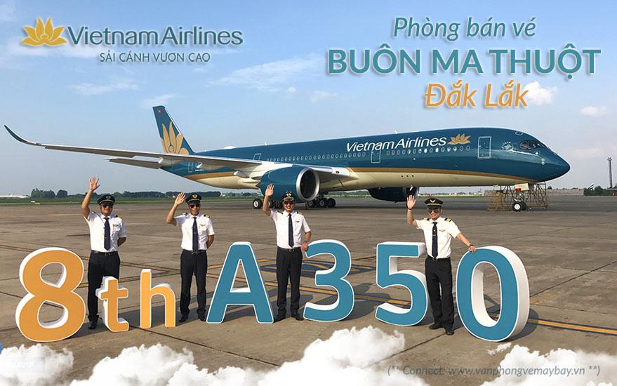 Vietnam Airlines tai Buon Ma Thuot Dak Lak