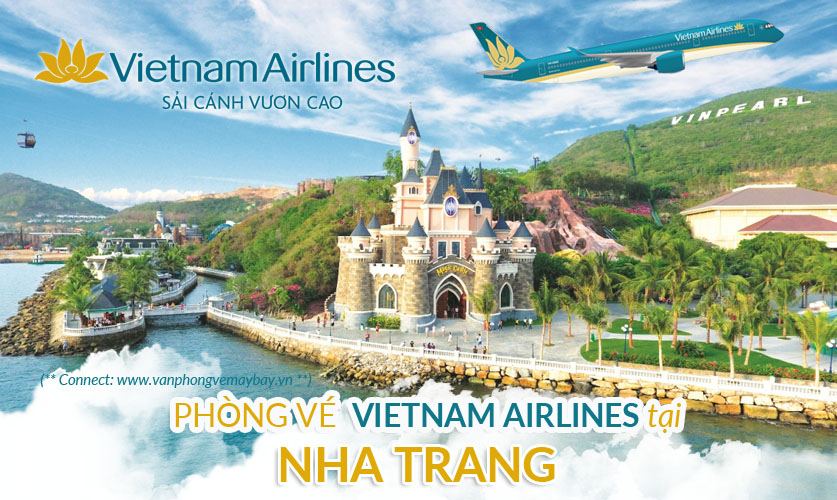 Van phong ve may bay Vietnam Airlines Nha Trang