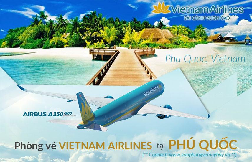 Van phong ve may bay Vietnam Airlines tai Phu Quoc