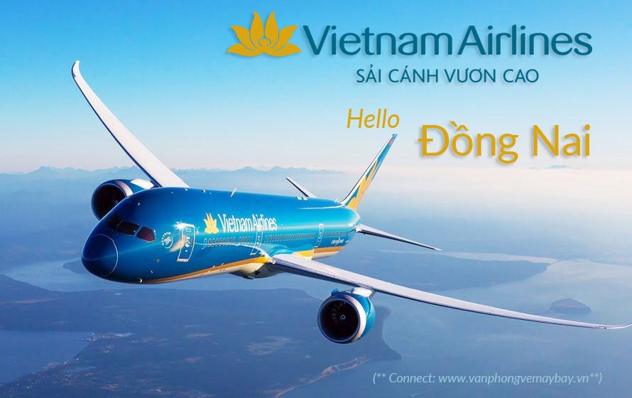 Văn phong ve may bay Vietnam Airlines tai Dong Nai