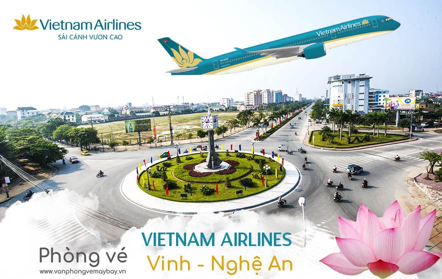 Van phong ve may bay Vietnam Airlines tai Vinh Nghe An
