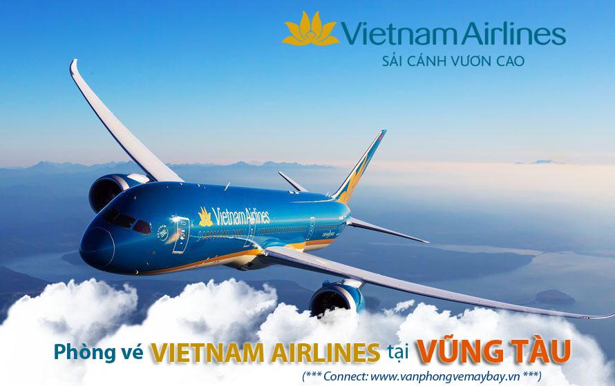 Phong ve Vietnam Airlines tai Vung Tau
