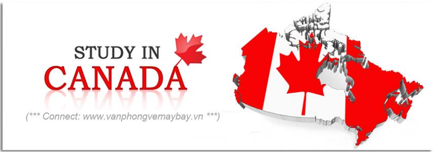 Vé đi du học Canada