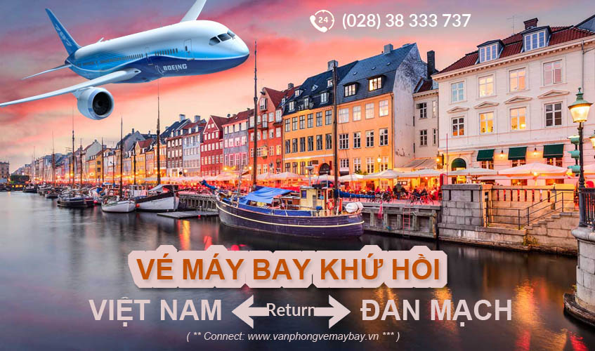 Vé máy bay khứ hồi đi Đan Mạch