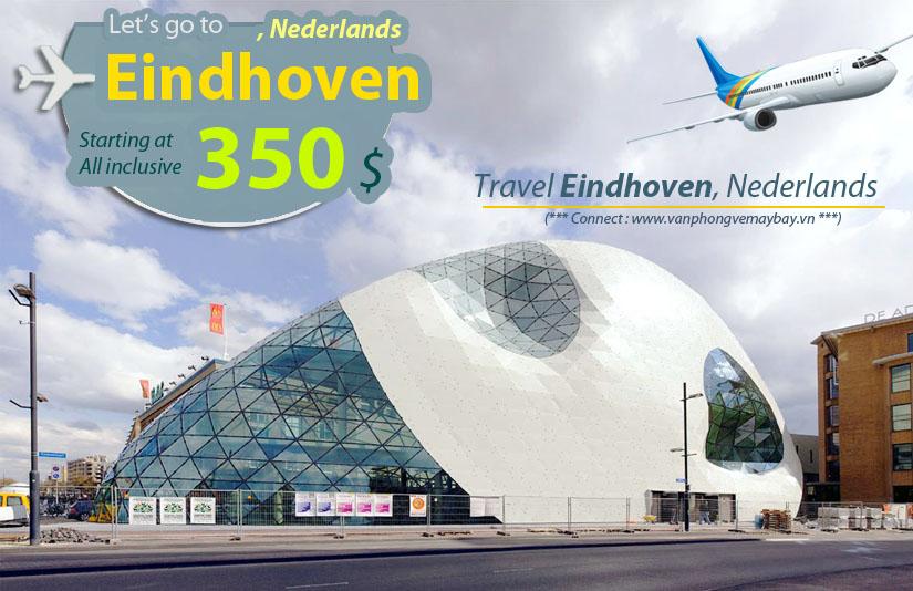 Vé máy bay đi Eindhoven giá rẻ