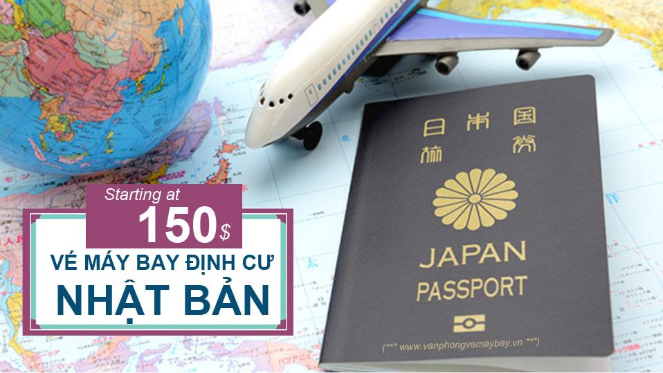 Vé máy bay đi định cư Nhật Bản