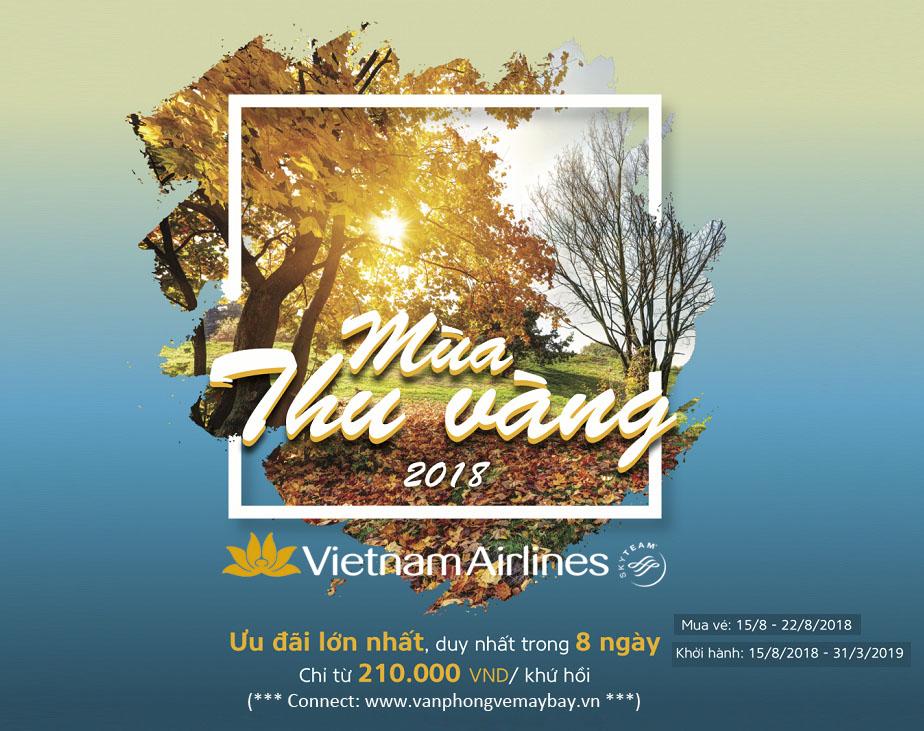 Mùa thu vàng 2018 của Vietnam Airlines