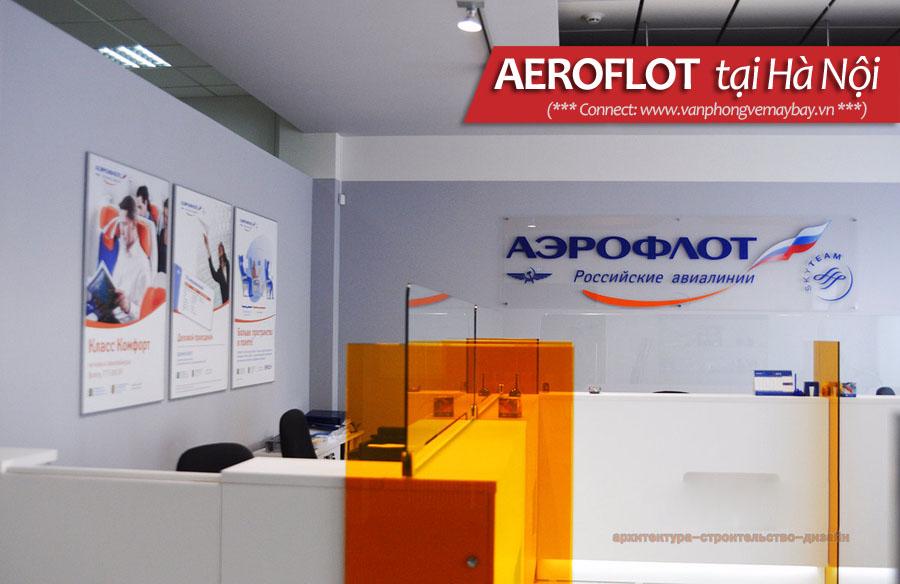 Văn phòng Aeroflot tại Hà Nội