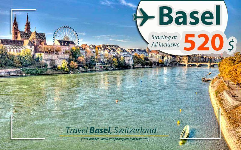 Đặt vé máy bay đi Basel (Thụy Sĩ) giá rẻ