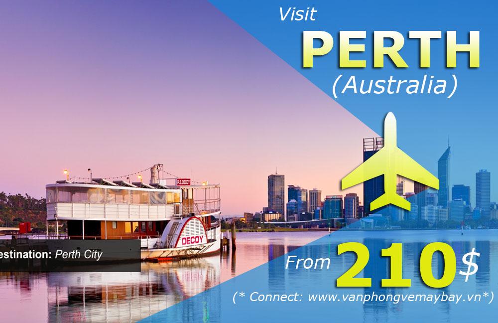 Vé máy bay đi Perth giá rẻ