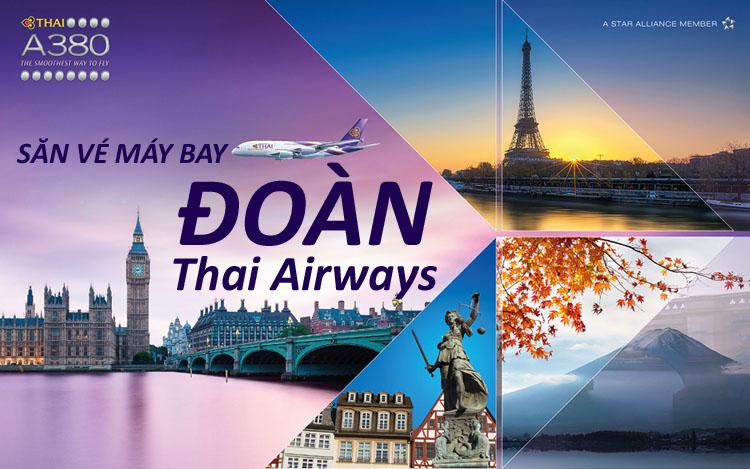 Đặt vé đoàn hãng Thai Airways
