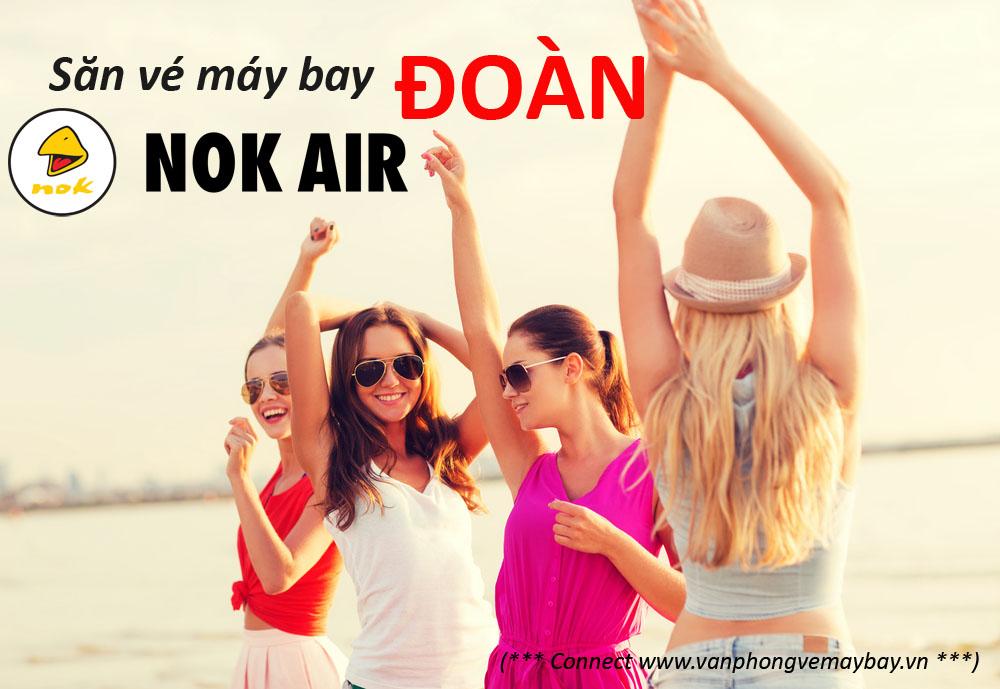 Đặt vé đoàn hãng Nok Air