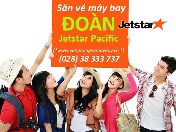 Đặt vé đoàn hãng Jetstar Pacific