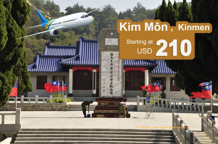 Đặt vé máy bay đi Kim Môn (Kinmen) giá rẻ
