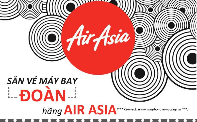 Đặt vé đoàn hãng Air Asia