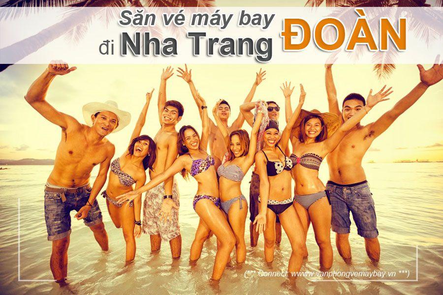 Đặt vé đoàn đi Nha Trang