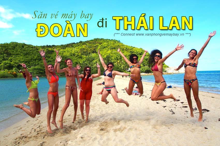 Đặt vé máy bay đoàn đi Thái Lan