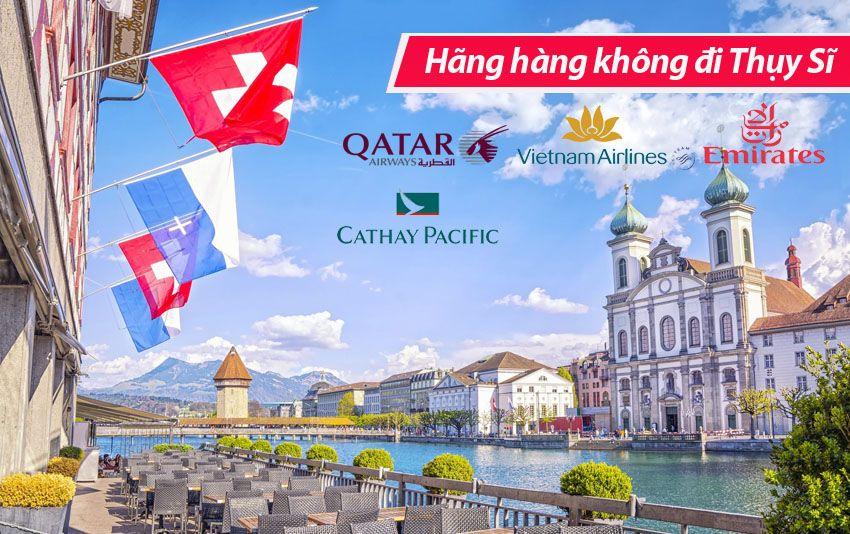 Các hãng hàng không đi Thụy Sĩ (Switzerland)