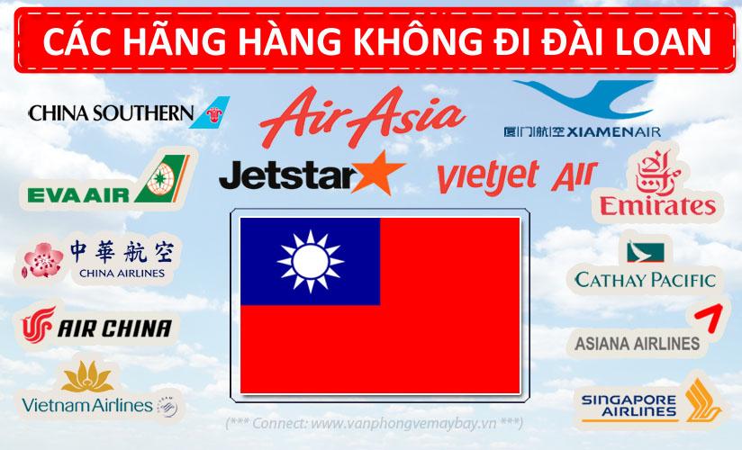 Các hãng hàng không đi Đài Loan