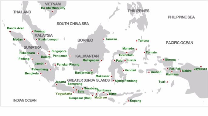 Mạng lưới đường bay Lion Air