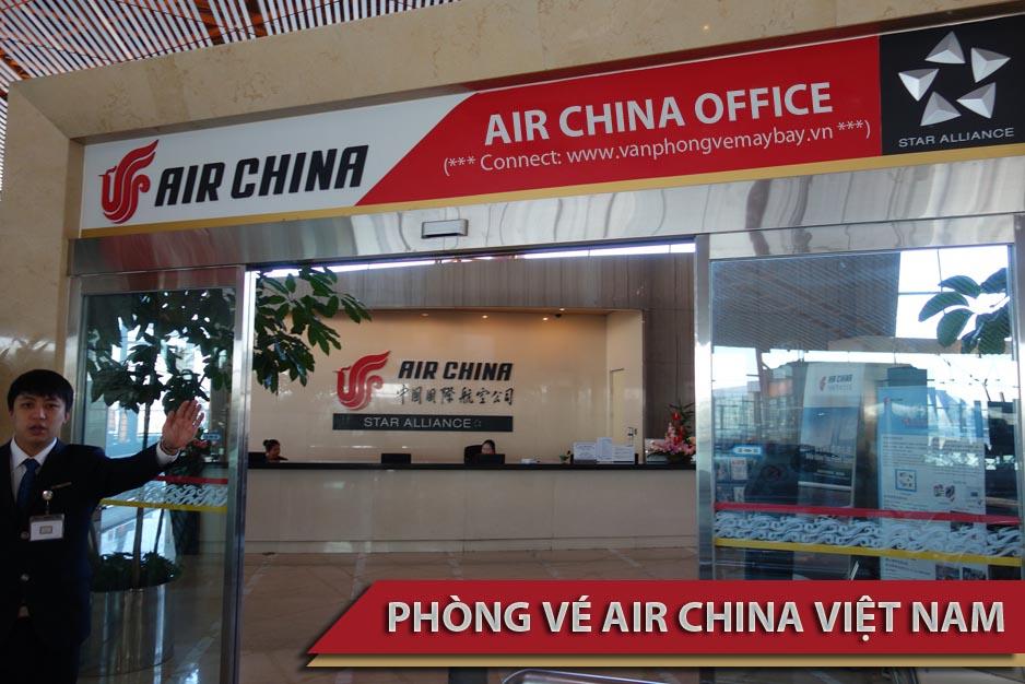 Phòng vé Air China Việt Nam
