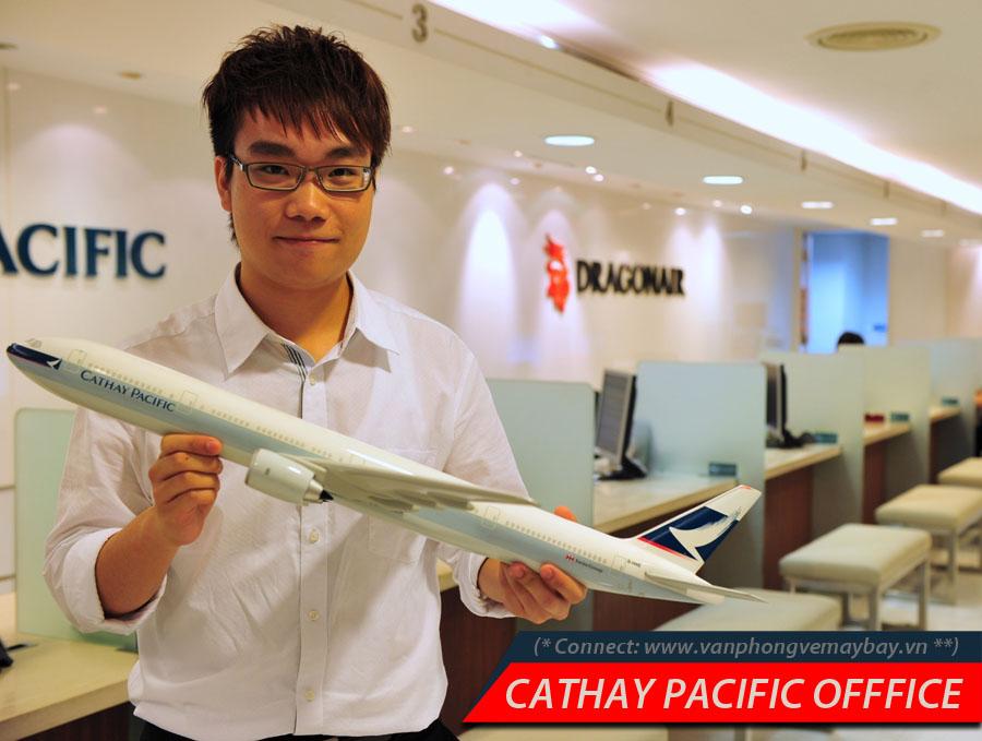 Phòng vé hãng Cathay Pacific