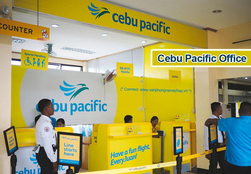 Phòng vé Cebu Pacific
