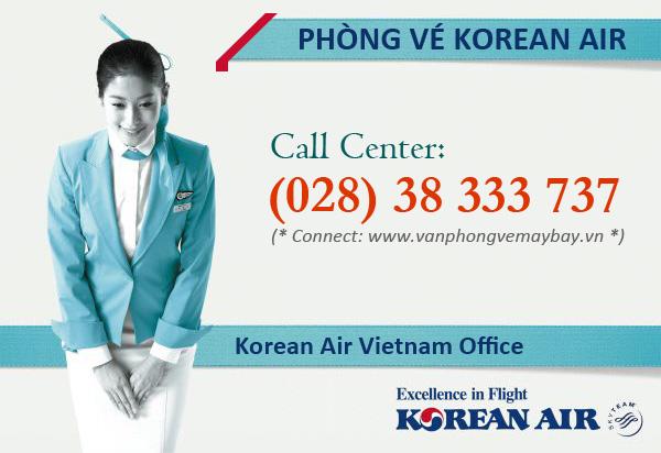 Phòng vé hãng Korean Air
