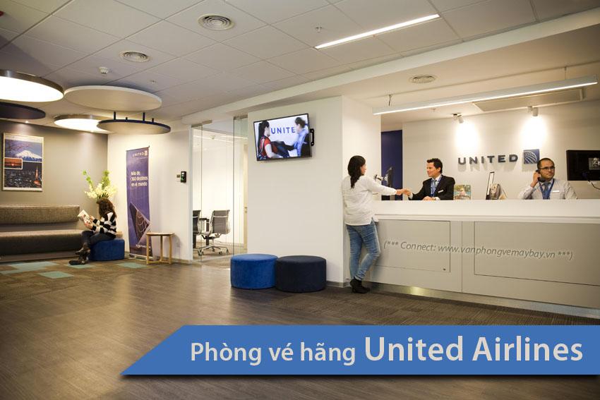 Phòng vé hãng United Airlines