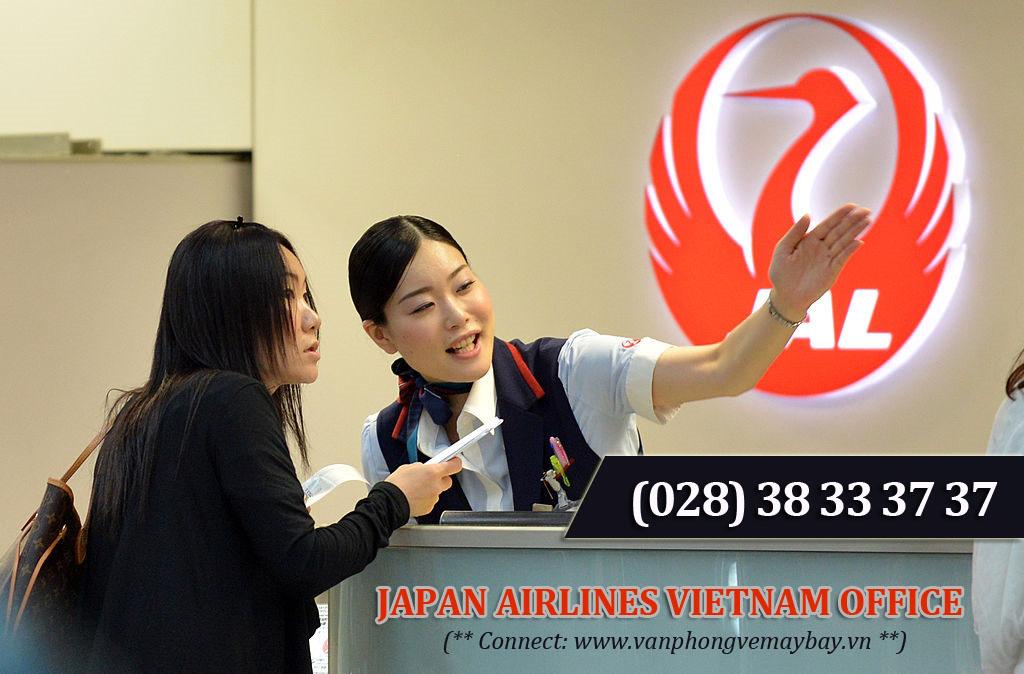 Phòng vé Japan Airlines