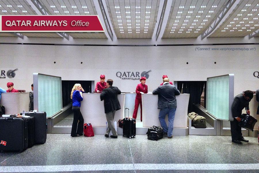 Phòng vé Qatar Airways