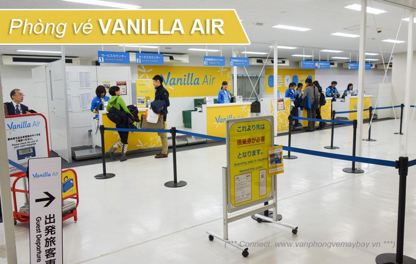 Phòng vé Vanilla Air Vietnam Office
