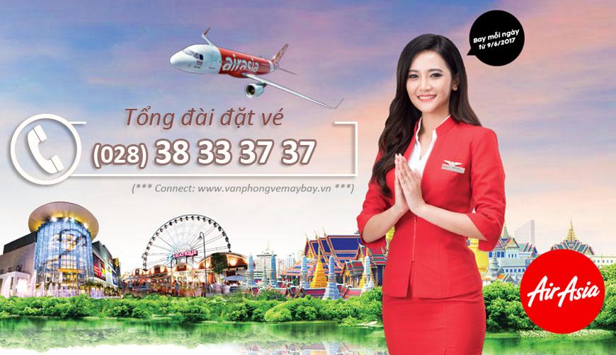 số điện thoại tổng đài Air Asia