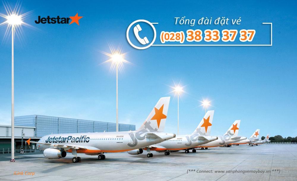 Số điện thoại Hotline tổng đài đặt vé Jetstar Pacific