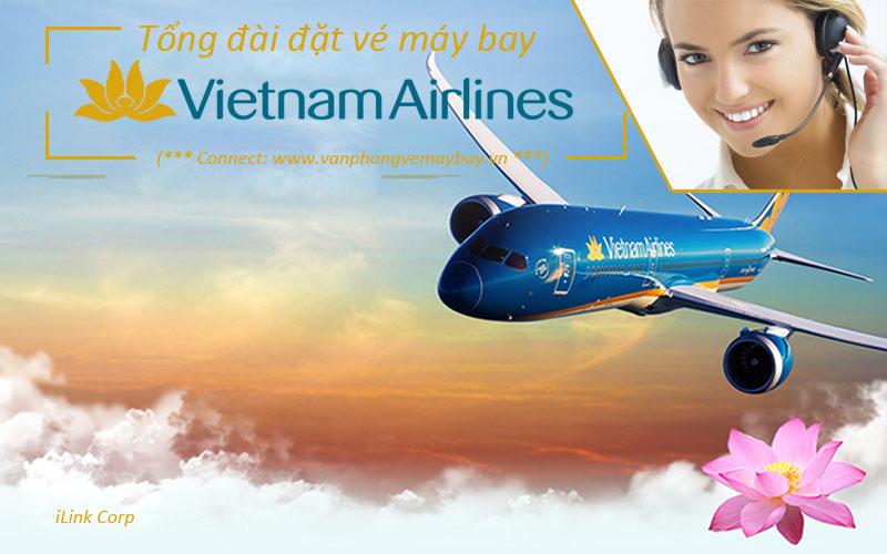 Số điện thoại hotline tổng đài đặt vé Vietnam Airlines