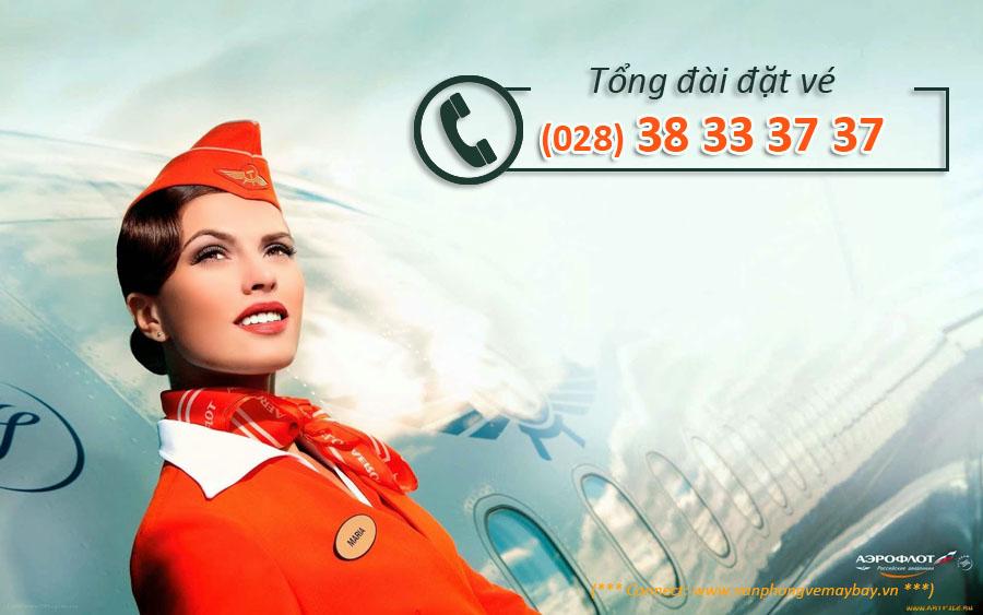 Số điện thoại tổng đài aeroflot