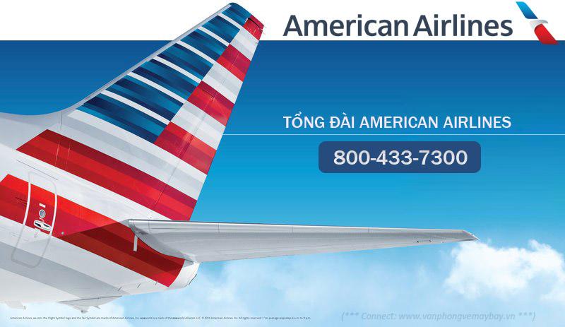 Số điện thoại tổng đài American Airlines