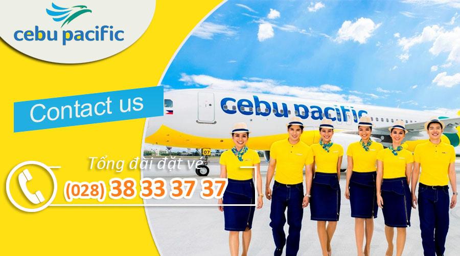 Số điện thoại tổng đài Cebu Pacific