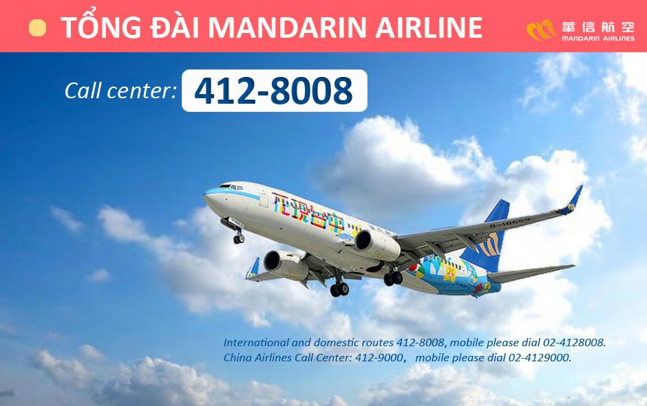 Số điện thoại tổng đài Mandarin Airlines