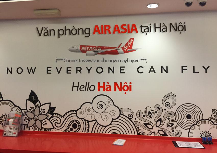 Văn phòng Air Asia tại Hà Nội